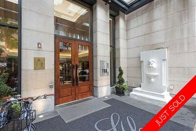 Downtown Condo for sale: L'Hermitage 1 & Den 711 sq.ft. (Listed 2020-08-25)